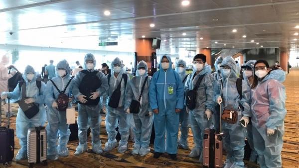 Hai chuyến bay đưa hơn 390 công dân Việt Nam từ Myanmar về nước, hạ cánh tại Đà Nẵng