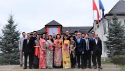 Phái đoàn đại diện Việt Nam tại Geneva kỷ niệm 111 năm ngày Quốc tế Phụ nữ