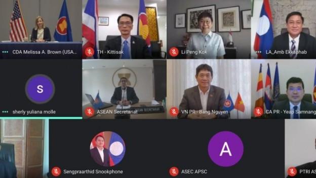 Đại sứ Nguyễn Hải Bằng tham dự cuộc họp Ủy ban hợp tác chung ASEAN-Hoa Kỳ lần thứ 12