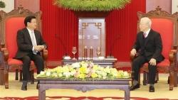 Tổng Bí thư, Chủ tịch nước Lào gửi thư cảm ơn Tổng Bí thư Nguyễn Phú Trọng và Chủ tịch nước Nguyễn Xuân Phúc