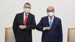 Thủ tướng Nguyễn Xuân Phúc tiếp Đại sứ Cộng hòa Áo tại Việt Nam