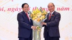 Điện mừng Chủ tịch nước Nguyễn Xuân Phúc, Thủ tướng Phạm Minh Chính