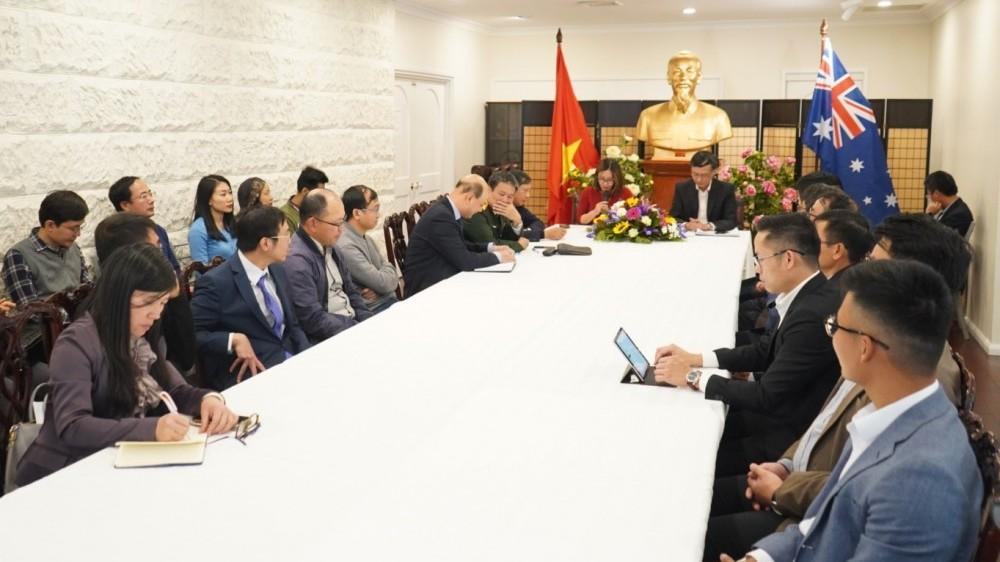 Đại sứ quán Việt Nam tại Australia tổ chức Hội nghị thông báo kết quả Đại hội XIII của Đảng