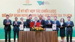 Tập đoàn Hưng Thịnh và Đại học Quốc gia TP. HCM ký kết hợp tác chiến lược
