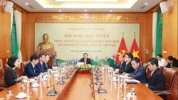 Hội nghị trực tuyến thông báo kết quả Đại hội XIII của Đảng Cộng sản Việt Nam tới Đảng Cộng sản Nhật Bản