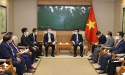 Phó Thủ tướng Phạm Bình Minh tiếp Giám đốc điều hành Tập đoàn SMFG
