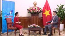 Thứ trưởng Đặng Hoàng Giang trả lời phỏng vấn báo chí về kết quả tháng Chủ tịch Hội đồng Bảo an LHQ của Việt Nam