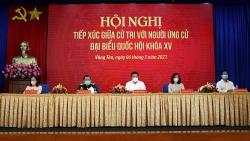 Phó Thủ tướng Chính phủ Phạm Bình Minh tiếp xúc cử tri thành phố Vũng Tàu