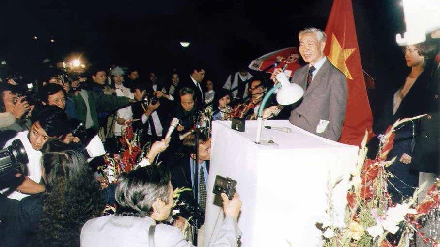 Đồng chí Nguyễn Cơ Thạch và quan hệ Việt Nam-Mỹ