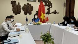 Tư vấn lãnh sự Việt Nam-Australia lần thứ XV theo hình thức trực tuyến