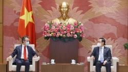 Chủ tịch Quốc hội đề nghị EU giúp Việt Nam tiếp cận nguồn vaccine phòng Covid-19