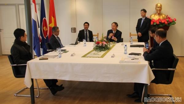 Đại sứ quán Việt Nam tại Hà Lan đảm nhận vai trò Chủ tịch luân phiên Ủy ban ASEAN tại La Haye