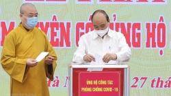 Chủ tịch nước Nguyễn Xuân Phúc kêu gọi cả nước chung tay, đẩy lùi dịch Covid-19