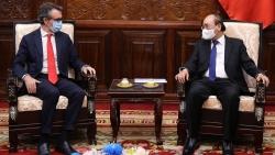 Chủ tịch nước Nguyễn Xuân Phúc tiếp Đại sứ, Trưởng phái đoàn EU tại Việt Nam