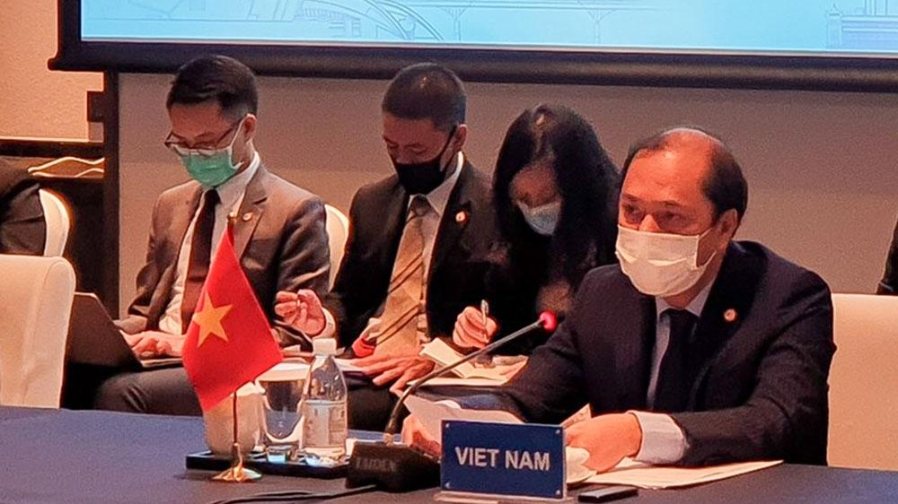 Hội nghị SOM ASEAN-Trung Quốc về Thực hiện Tuyên bố về Ứng xử của các bên ở Biển Đông lần thứ 19