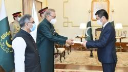 Đại sứ Nguyễn Tiên Phong trình Thư ủy nhiệm lên Tổng thống Pakistan