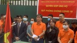 Cộng đồng người Việt tại  Mozambique quyên góp ủng hộ Quỹ phòng chống dịch Covid-19
