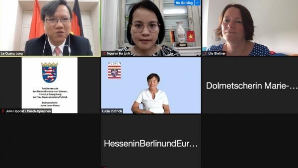 Bang Hessen, Đức xem xét hỗ trợ việc giảng dạy tiếng Đức tại Việt Nam