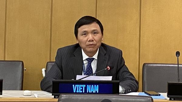 Việt Nam tham dự Hội nghị lần thứ 31 các quốc gia thành viên Công ước Liên hợp quốc năm 1982 về Luật Biển