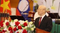Diễn văn của Tổng Bí thư Nguyễn Phú Trọng tại chiêu đãi trọng thể chào mừng Tổng Bí thư, Chủ tịch nước Lào