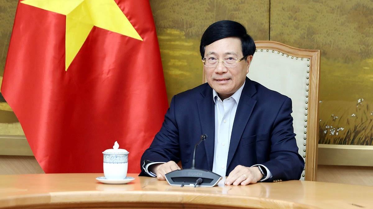 Phó Thủ tướng Phạm Bình Minh điện đàm với Cố vấn An ninh quốc gia Hoa Kỳ Jake Sullivan