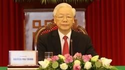Tổng Bí thư Nguyễn Phú Trọng gửi lời thăm hỏi, động viên Đảng bộ, chính quyền và nhân dân TP. Hồ Chí Minh
