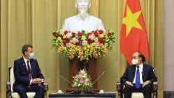 Chủ tịch nước Nguyễn Xuân Phúc tiếp Bộ trưởng Thương mại, Du lịch và Đầu tư Australia