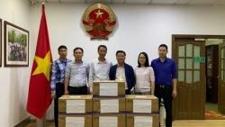 Cộng đồng người Việt tại tỉnh Vân Nam, Trung Quốc quyên góp hỗ trợ phòng chống dịch Covid-19