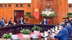 Thủ tướng Phạm Minh Chính tiếp Bộ trưởng Quốc phòng Anh Ben Wallace