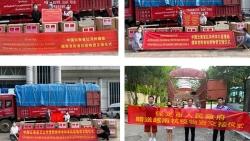 Tỉnh Vân Nam, Trung Quốc quyên tặng Việt Nam vật tư y tế phòng chống dịch Covid-19