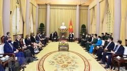 Chủ tịch nước: Thúc đẩy hợp tác quốc phòng có ý nghĩa quan trọng trong quan hệ Việt Nam-Hoa Kỳ