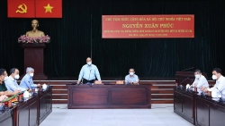 Chủ tịch nước Nguyễn Xuân Phúc kiểm tra công tác phòng, chống dịch Covid-19 tại TP. Hồ Chí Minh