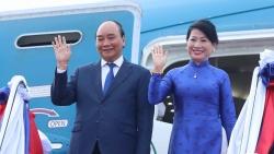Chủ tịch nước Nguyễn Xuân Phúc kết thúc tốt đẹp chuyến thăm hữu nghị chính thức Lào