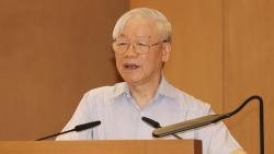 Tổng Bí thư Nguyễn Phú Trọng: Chính phủ cần tiếp tục nâng cao chất lượng, hiệu lực, hiệu quả hoạt động