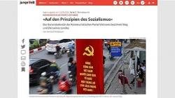 Báo Đức: Bài viết của Tổng Bí thư phân tích sâu sắc và toàn diện con đường đi lên chủ nghĩa xã hội của Việt Nam