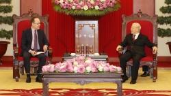 Tổng Bí thư Nguyễn Phú Trọng tiếp Đại sứ Liên bang Nga tại Việt Nam