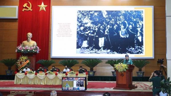 Hội thảo khoa học quốc gia 'Đại tướng, Tổng Tư lệnh Võ Nguyên Giáp-Một tài năng quân sự xuất chúng, nhà lãnh đạo có uy tín lớn của cách mạng Việt Nam'