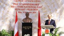 Đại sứ quán Việt Nam tại Áo tổ chức Lễ kỷ niệm 75 năm Quốc khánh Việt Nam