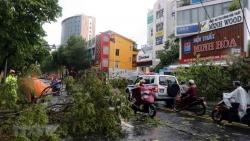 Thủ tướng Lào gửi điện thăm hỏi về thiệt hại do bão Noul đổ bộ vào miền Trung Việt Nam