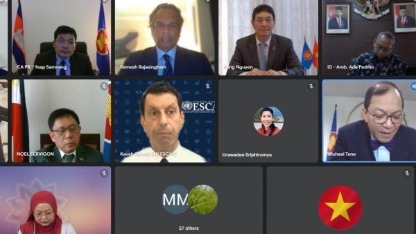 Việt Nam tham dự cuộc họp giữa Ủy ban các Đại diện thường trực tại ASEAN với đại diện của LHQ
