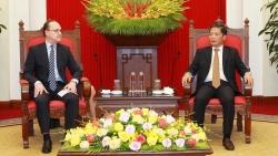 Trưởng Ban Kinh tế Trung ương tiếp Đại sứ LB Nga và Đại sứ Australia tại Việt Nam