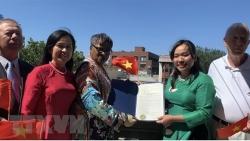 Lễ thượng cờ Việt Nam nhân dịp Quốc khánh 2/9 tại thành phố Jersey, Mỹ