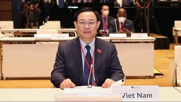 Chuyến thăm châu Âu của Chủ tịch Quốc hội: Phát huy vai trò ngoại giao Nghị viện với phát triển kinh tế-xã hội và phòng chống dịch