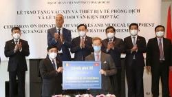 Bỉ trao tặng 100.000 liều vaccine AstraZeneca cho Việt Nam để hỗ trợ phòng chống dịch Covid-19