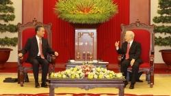Tổng Bí thư Nguyễn Phú Trọng tiếp Ủy viên Quốc vụ, Bộ trưởng Ngoại giao Trung Quốc