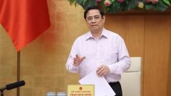Thủ tướng Phạm Minh Chính họp trực tuyến về công tác phòng chống dịch Covid-19 với Tiền Giang, Kiên Giang