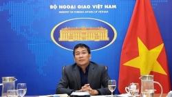 Thứ trưởng Ngoại giao Nguyễn Minh Vũ làm việc với lãnh đạo Tập đoàn Adidas