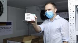 852.480 liều vaccine do Đức hỗ trợ thông qua cơ chế COVAX đã về đến Việt Nam