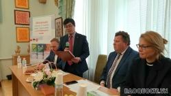 Ra mắt bộ giáo trình tiếng Việt tại trường Đại học tổng hợp quốc gia Kiev, Ukraine