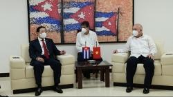 Việt Nam-Cuba trao đổi về công tác cán bộ, xây dựng, chỉnh đốn Đảng, kiểm tra, giám sát, kỷ luật của Đảng